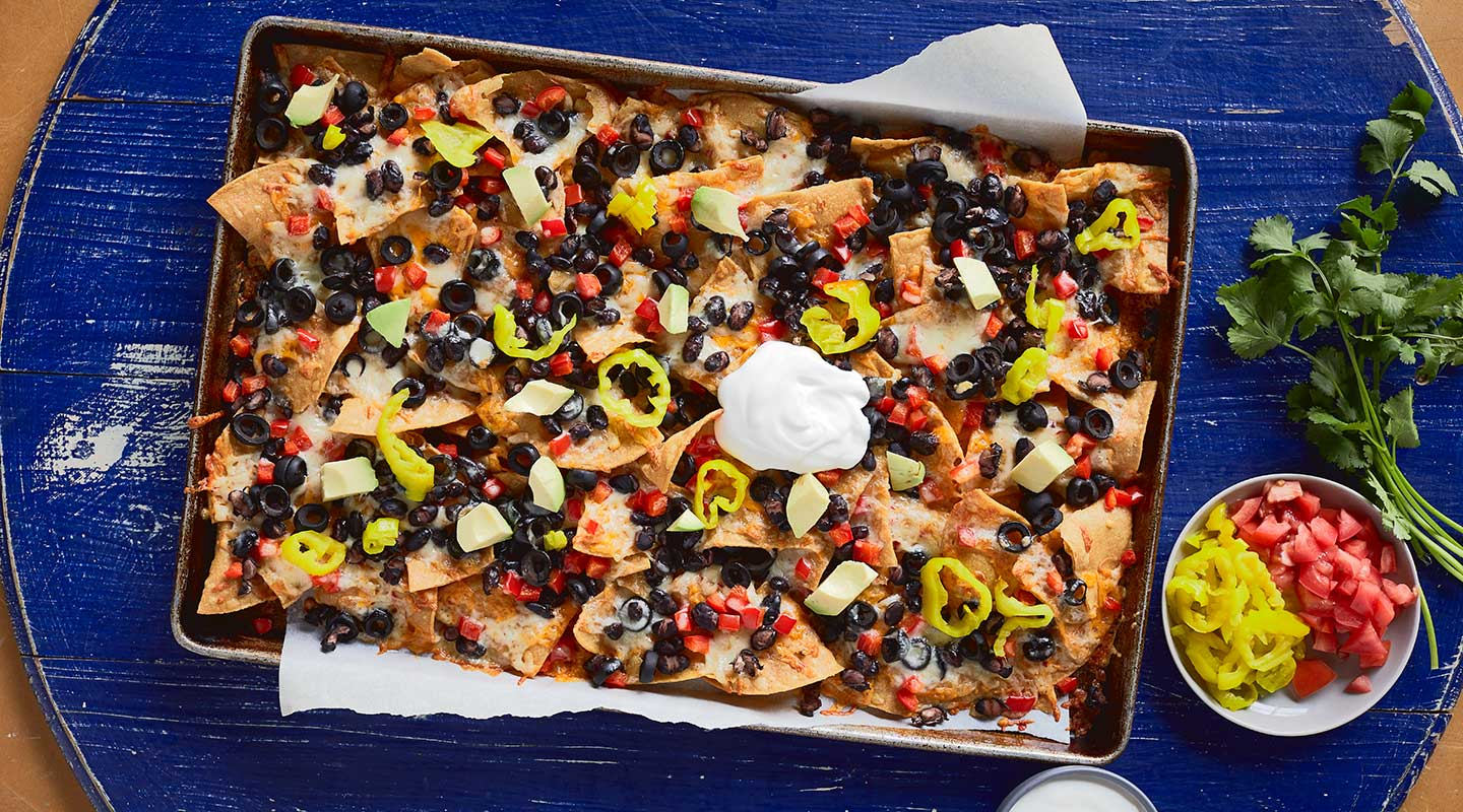 Super Loaded Sheet-Pan Nachos