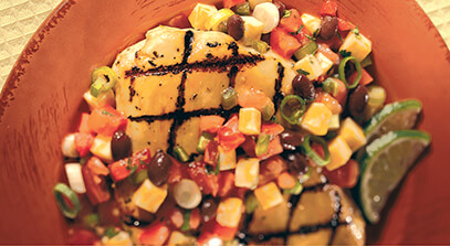 Tequila Lime Chicken with Colby-Jack Black Bean Salsa