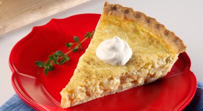 New Glarus Cheese and Onion Pie