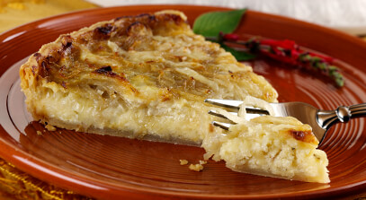 Alpine-Style Cheese and Onion Tart