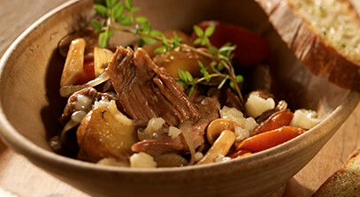 Braised Lamb Stew with Gran Canaria Cheese