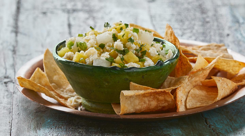 Wisconsin Cheese Pineapple Queso Fresco Salsa  Recipe