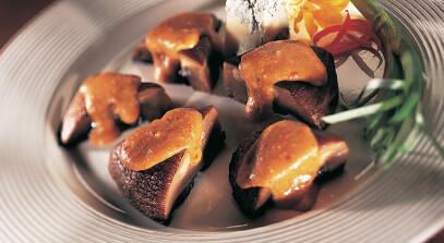 Portobello Mushrooms with Italian-Style Gorgonzola