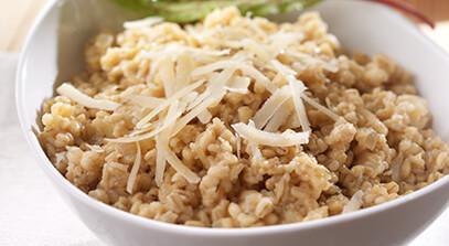 Aged Parmesan Barley Risotto