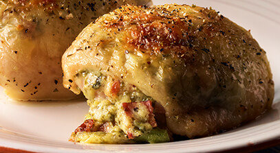 Cheese Italian-Style Chicken Thighs