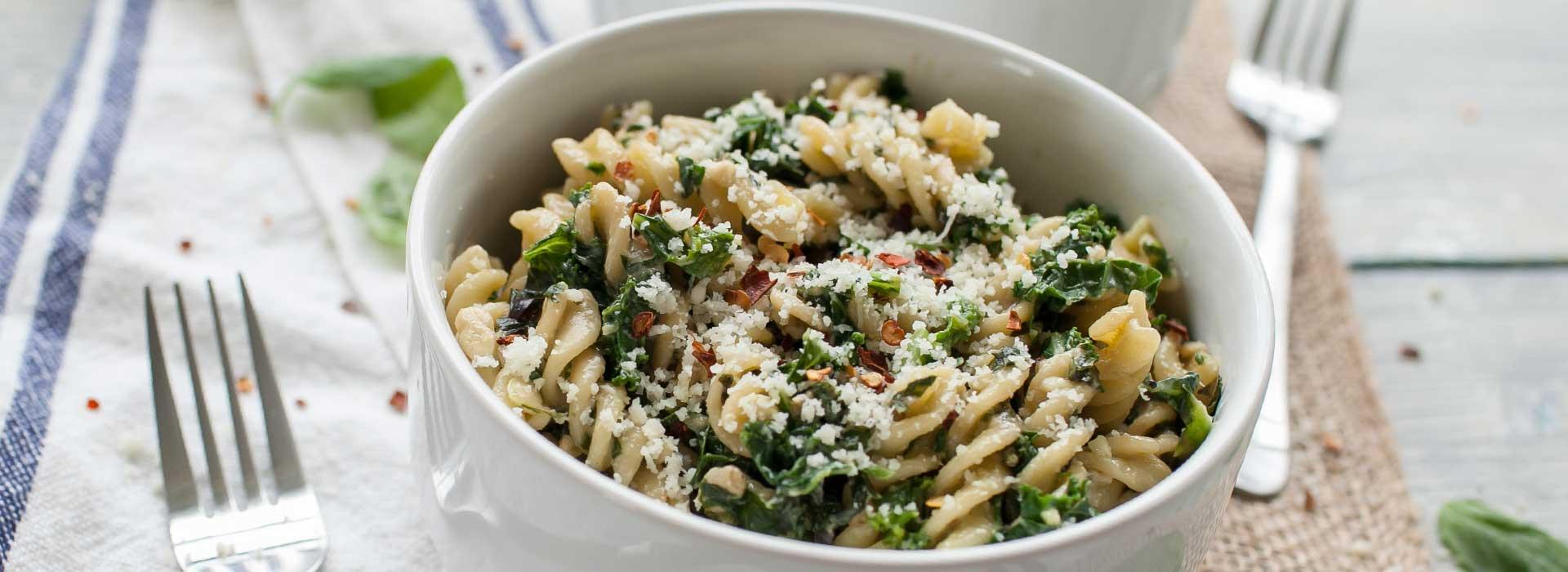 30-Minute Creamy Pesto Pasta