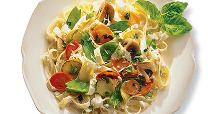 Pasta Primavera with Parmesan