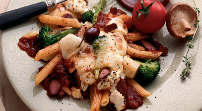 Cheese and Broccoli Penne