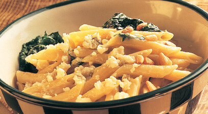 Penne Pasta in Gorgonzola Cream Sauce