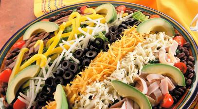Mexicana Chef Salad Patio Platter