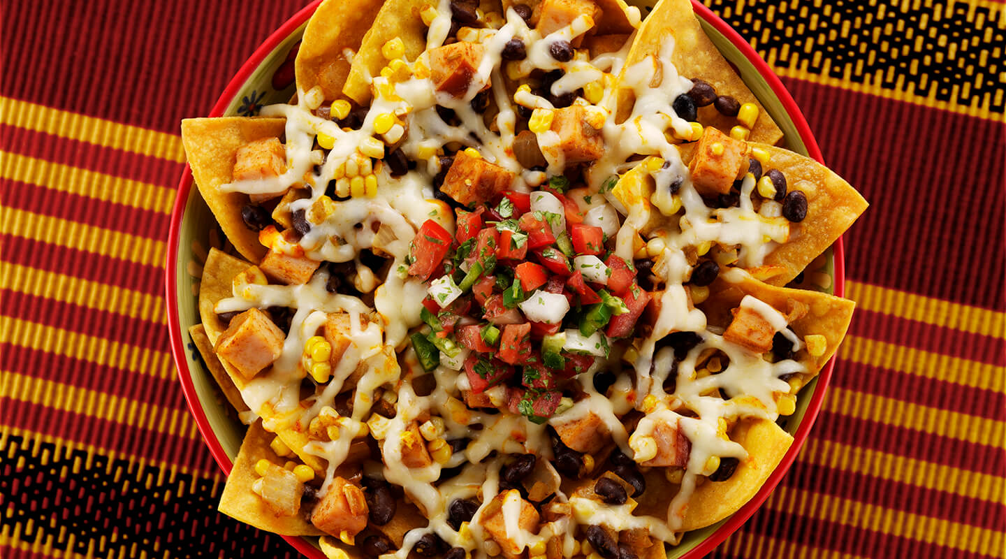 Wisconsin Cheese Muenster and Fresh Corn Nachos  Recipe