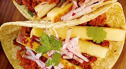 Juustoleipa Tacos with Chorizo