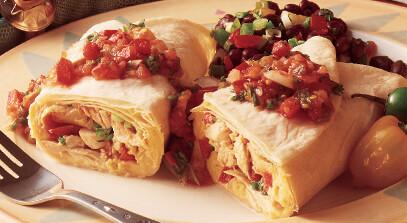 tortilla roll-up