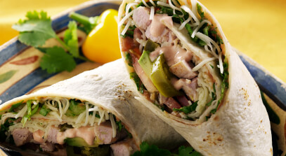Brick Cheese Mexican Wrap