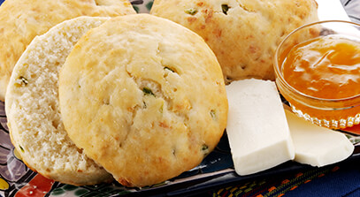 Jalapeño Queso Blanco Biscuits