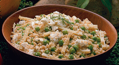 Tabbouleh and Cheese Salad