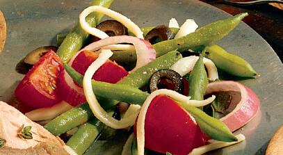 Mozzarella and Green Bean Salad
