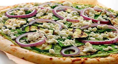 White Feta Pizza