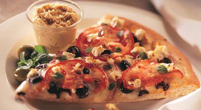 Parthenon Vegetarian Pizza