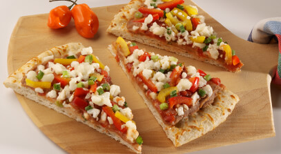 Fiesta Pizza with Queso Blanco Cheese
