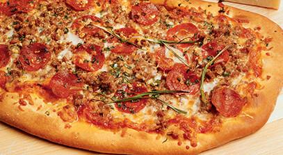 Mrs. Nick Salerno's Pizza