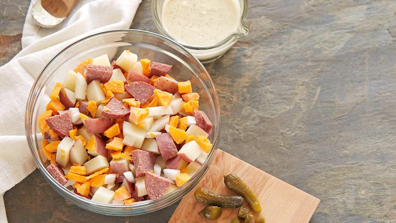 Wisco-Style Potato Salad