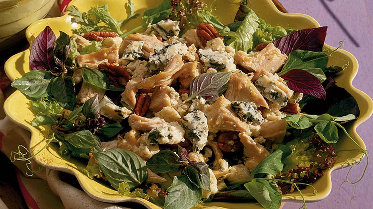 Blue Cheese Turkey Salad