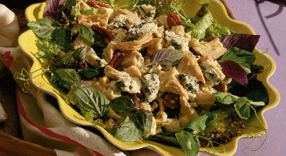 Blue Cheese Turkey Salad