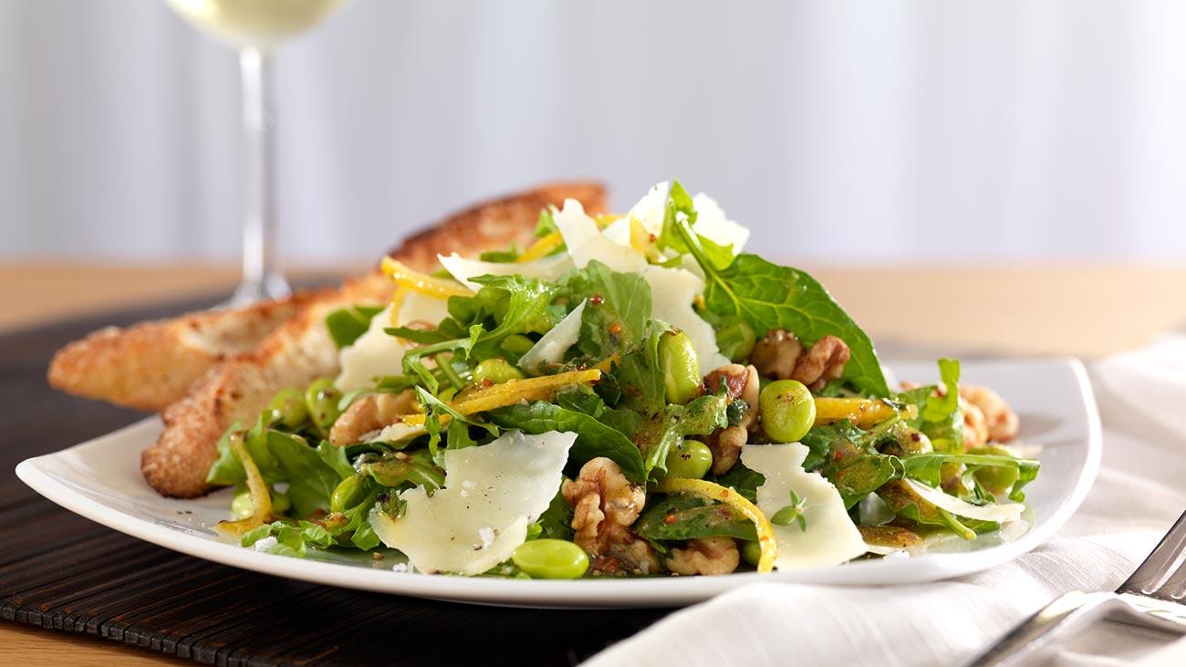 Edamame and Asiago Salad