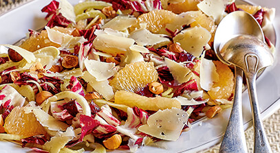 Radicchio, Fennel and Citrus Salad with Parmesan