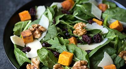 Autumn Greens Salad