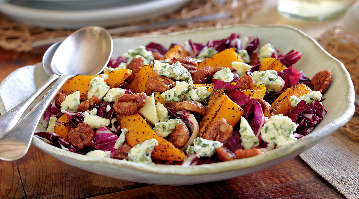 Wisconsin Cheese Radicchio Blue Cheese Salad Recipe