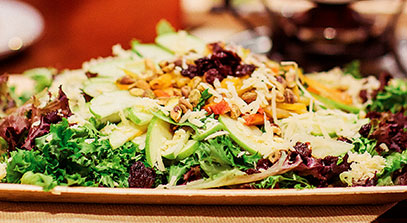Winter Greens & Grand Cru® Salad