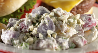 True Blue Potato Salad