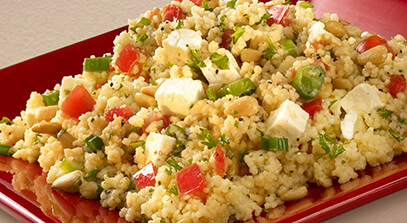 Couscous Salad with Feta Cheese