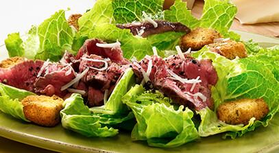 Parmesan Caesar Sirloin Salad