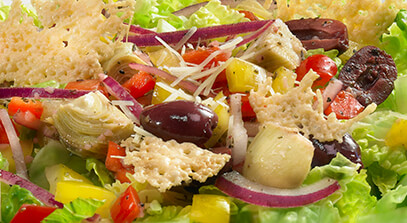 Parmesan Chop Salad