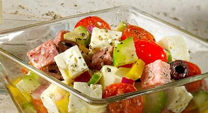 Marinated Feta Salad