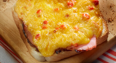 Southern-Style Melt with Pimiento Cheese