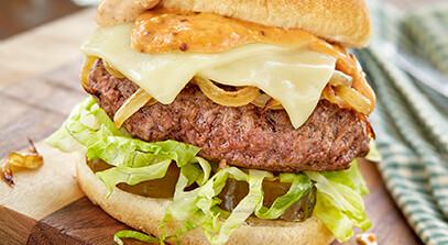 Messy Toro Burger