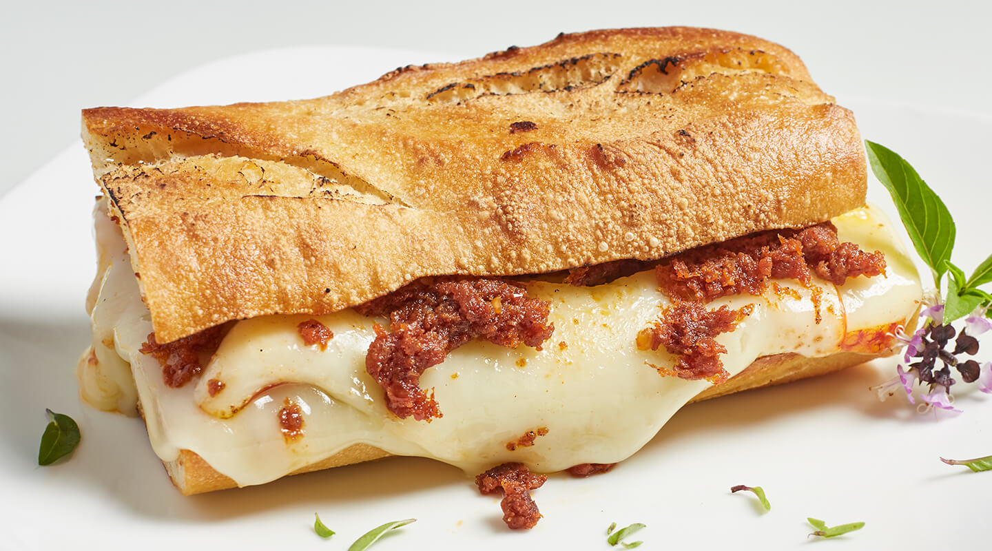 Wisconsin Cheese The Nduja Grilled Cheese recipe
