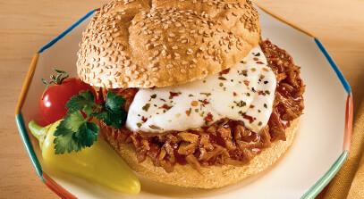 Turkey Pizza Burger