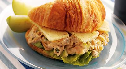 Chicken Salad Sandwich with Wisconsin Havarti