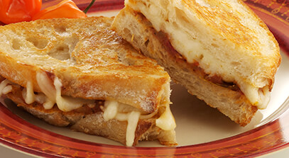 South of the Border Grilled Cheese