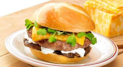 Portobello Brats Burger