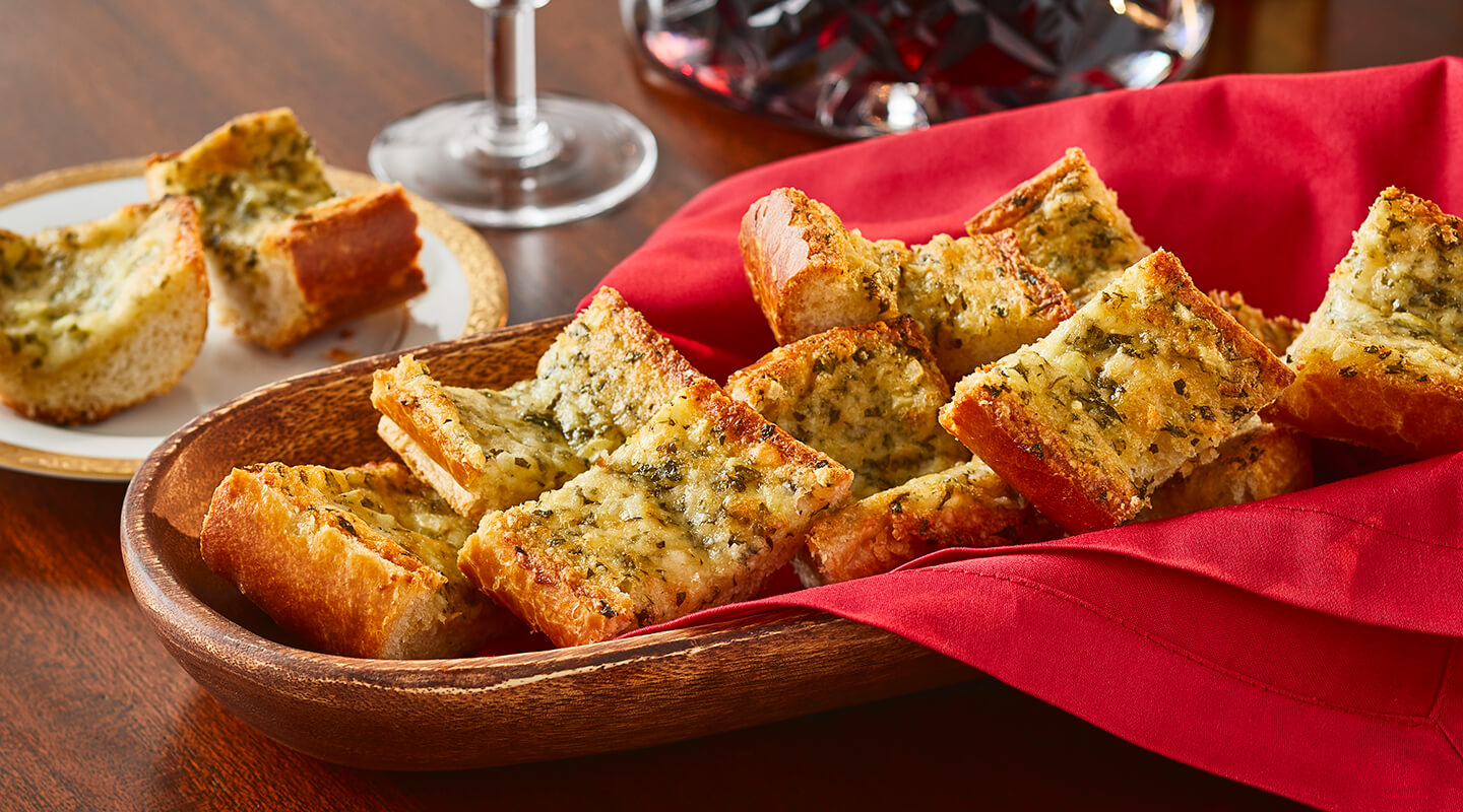 Warm Garlic Cheese Bread