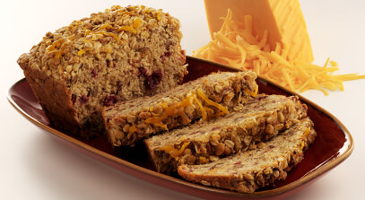 Cranberry Pecan Loaf with Cheddar Cheese