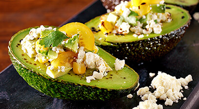 Stuffed Avocado with Cotija