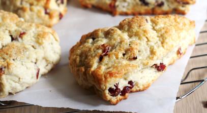 cranberry ricotta scones