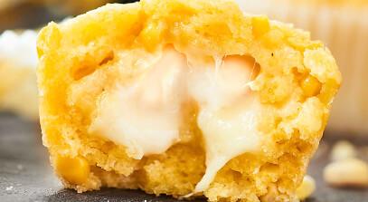 Cheesy Corn Bread Muffins